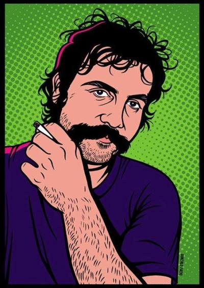 Lester Bangs (c) Gonzalo Facio