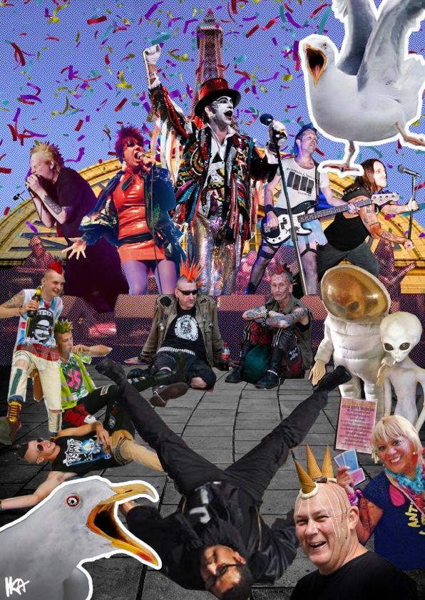 The Chaos of Blackpool Festival by Ika Lesniak