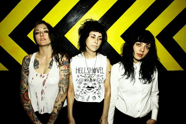The Coathangers courtesy of their Facebook page.