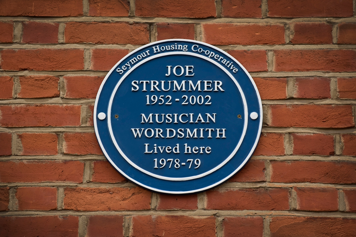 Joe Strummer's Blue Plaque Unveiling - 7th December 2016