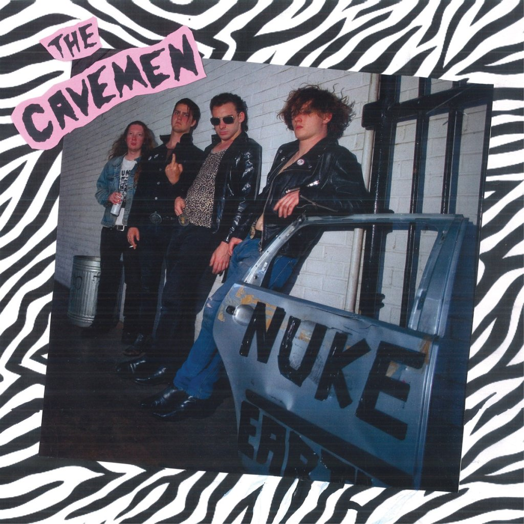 The Cavemen – Nuke Earth (Slovenly Records)