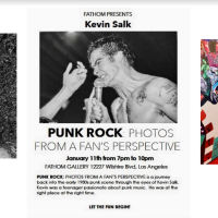 Kevin Salk: Punk Rock Photography from the 1980s